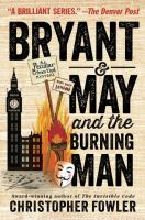 Cover art for Bryant & May and the Burning Man
