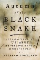 Cover art for Autumn of the Black Snake