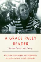 Cover art for A Grace Paley Reader