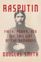 Cover art for Rasputin