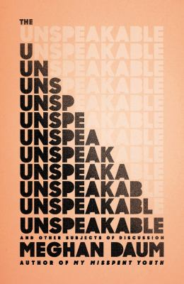 cover of The Unspeakable