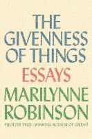 Cover of The Givenness of Things