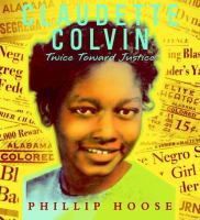 Cover art for Claudette Colvin
