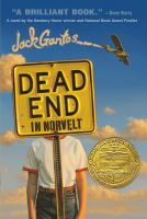 Cover art for Dead End in Norvelt