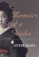 Cover art for Memoirs of a Geisha