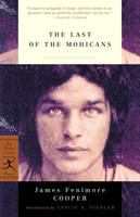 Last of the Mohicans by James Fenimore Cooper (book cover)