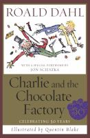 Cover art for Charlie and the Chocolate Factory