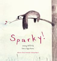 Cover art for Sparky!