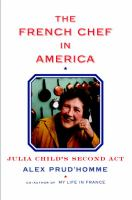 Cover art for The French Chef in America