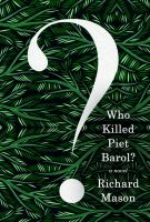Cover art for Who Killed Piet Barol