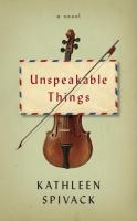 Cover art for Unspeakable Things