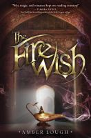 Book cover: The Fire Wish