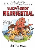 Cover art for Lucy & Andy Neanderthal