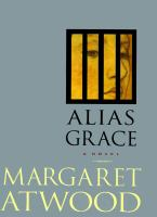 Book cover of Alias Grace