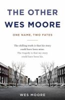 Cover art for The Other Wes Moore