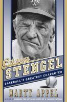 Cover art for Casey Stengel