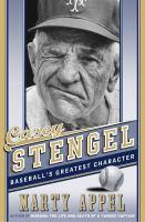 Cover art for Casey Stengel