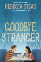 Cover art for Goodbye Stranger