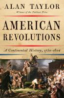 Cover art for any American Revolutions
