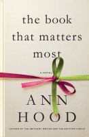 The Book That Matters Most by Hood, Ann © 2016 (Added: 8/11/16)
