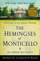 Cover art for The Hemingses of Monticello