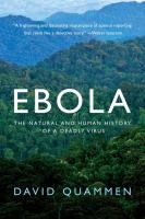 Cover art for Ebola