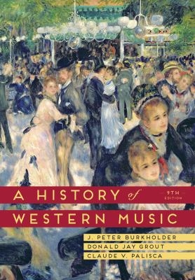 a history of western music cover