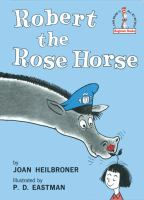 Cover art for Robert the Rose Horse