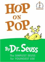 Cover art for Hop on Pop