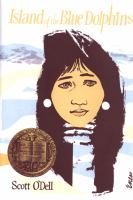Cover art for Island of the Blue Dolphins