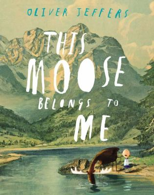 Cover image for This moose belongs to me 