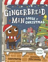 Cover art for The Gingerbread Man Loose at Christmas