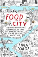 Cover art for Food and the City