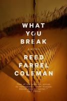 Cover art for What You Break