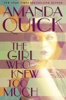 Cover art for The Girl Who Knew To Much