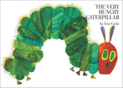 Very Hungry Caterpillar by Eric Carle cover