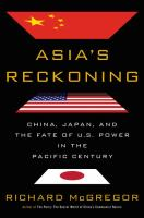Cover art for Asia's Reckoning