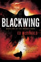 Cover art for Blackwing
