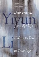 Cover art for Dear Friend, from My Life I Write to You in Your Life