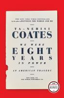 Cover art for We Were Eight Years in Power