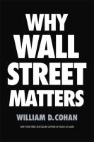Cover art for Why Wall Street Matters