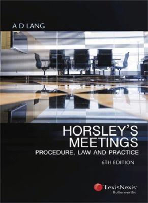 Horsley's Meetings