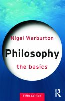 Philosophy : the basics