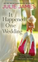 Book cover: It Happened One Wedding