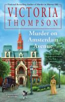 Cover art for Murder on Amsterdam Avenue