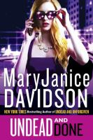 Undead And Done by Davidson, MaryJanice © 2016 (Added: 10/5/16)