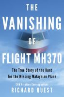 Cover art for The Vanishing of Flight MH370