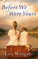 Cover art for Before We Were Yours