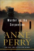 Cover art for Murder on the Serpentine