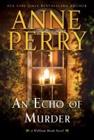 Cover art for An Echo of Murder